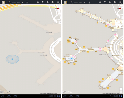 Google Maps 6.0 for Android with indoor navigation
