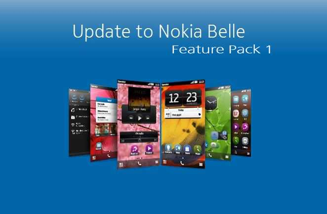 Nokia Belle Feature Pack 1