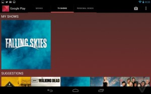 Google Nexus 7 Software