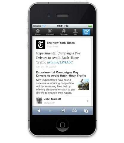 Apple Officials Said to Consider Stake in Twitter