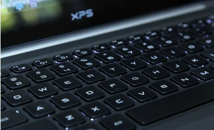 Dell XPS 14 Keyboard and Touch pad