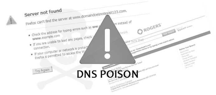 UnoDNS keeps you away from DNS Poison.