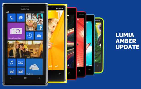 Amber Update for Nokia Lumia 720, 920, 820 and 620