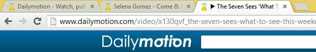 Dailymotion new Play Favicon