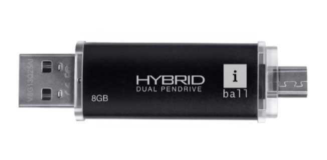 iBall Hybrid Dual Pendrive