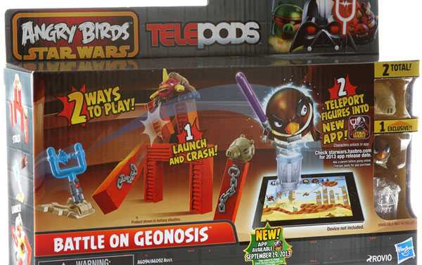 Angry Birds Star Wars Teleport Physical Toys