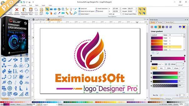 Eximioussoft Logo Designer Pro Logo Making Software